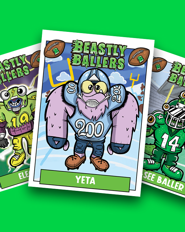 nft collectible cards beastly ballers
